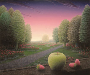 「春愁の明媚」油彩・キャンバス F8