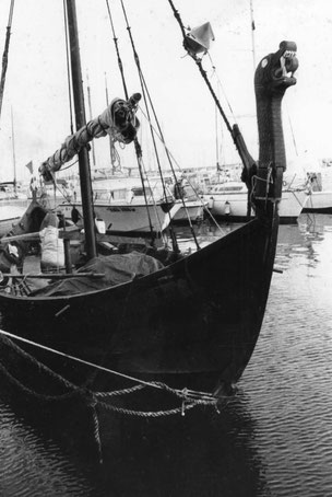la barca a Civitavecchia