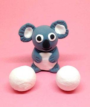 Spielwaren-Kroell, SilkClay, Seidenknete, basteln, Koala
