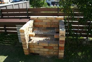 BBQ炉は耐火煉瓦で作成