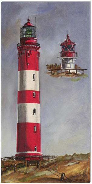 Leuchtturm Amrum mit Quermarkenfeuer