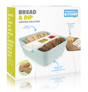 Tomorrow´s Kitchen Bread & Dip Vintage Package