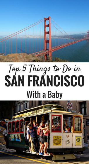 Top 5 Things to Do in San Francisco with a Baby. Read more at www.BabyCanTravel.com