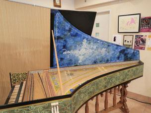 チェンバロ常設・グランドピアノ(別途有料)常設