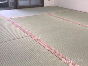 横浜市港南区の畳屋さん 内藤畳店 畳替えの後