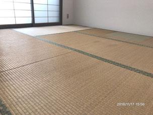 横浜市港南区の畳屋さん 内藤畳店 畳替え前