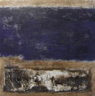 Deep river   53×53cm Oil on canvas