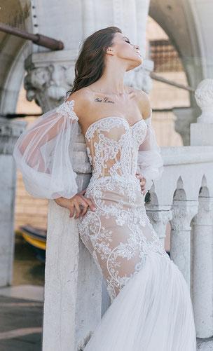 Kollektionen Extravagante Brautmode Ausgefallene Hochzeitsanzuge