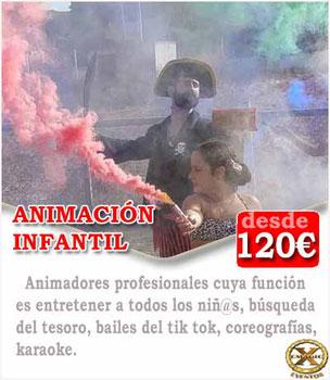 contratar animador comunión Cádiz