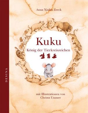 Buchcover - Kuku, König der Tierkreiszeichen