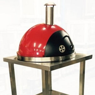 pizza oven, buitenoven, bbq, barbecue, grill, buitenkeuken, PIZZA OVEN BOZEN ROSSO