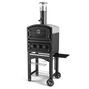 pizza oven, buitenkeuken, bbq, barbecue, TUINOVEN, fornetto, pz-5