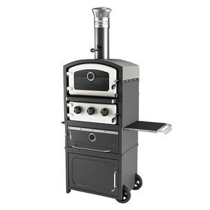 pizza oven, buitenoven, bbq, barbecue, grill, buitenkeuken, TUINOVEN, FORNETTO, ALTO