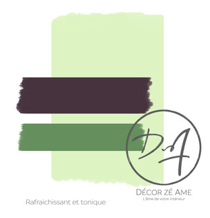 Peinture vert d'eau - Décor Zé Âme
