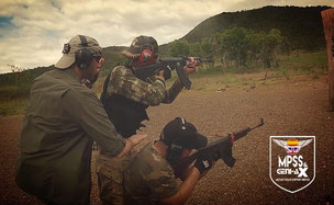 Manrico Erriu here in action with his student at a Counter Terrorism Course
