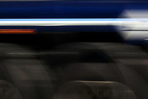 LKW Reifen während der Fahrt abstrakte Darstellung
