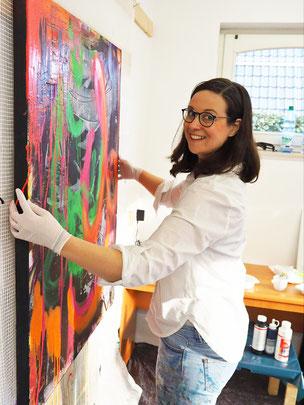 Katharina Tegenkamp, freie Künstlerin, Kunst by K. Tegenkamp, abstraKT