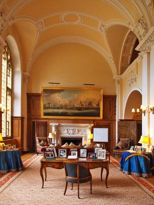 Salon im Schloss Minterne House, Dorchester