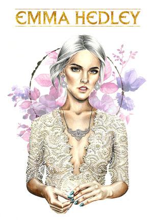 Osseus Designs Enchantment Illustration Emma Hedley Jewellery