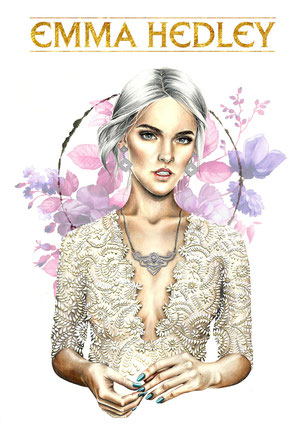 Osseus Designs Enchantment Illustration Emma Hedley Jewellery