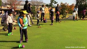 目標確認!大好きなゴルフ頑張るぞ!