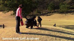 パパとママとゴルフ~楽しいね