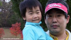 今日もパパとママとみんなでゴルフ楽しかった