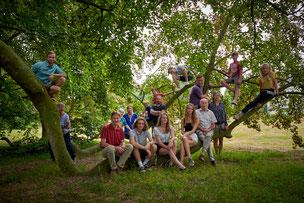 fotograaf voor grote familie reünie in Limburg