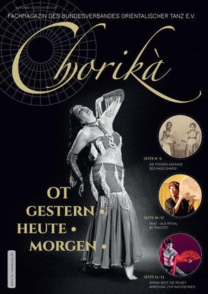 Chorikà Fachzeitschrift Coverkonzept