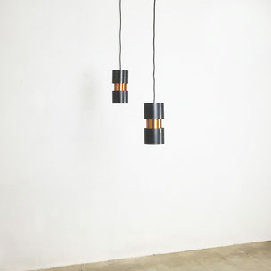 Hanging Lamp by Jo Hammerborg, 1963 | made in denmark by FOG & Morup