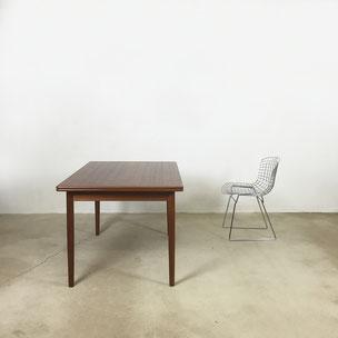 extendable teak dining table - H. Sigh & Son  Denmark | 1960s