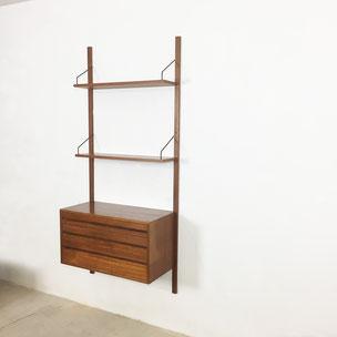 teak wall unit | royal system - Poul Cadovius for CADO  Denmark | 1960s