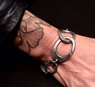 armband, silber,- braccialetto, argento