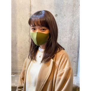 横浜 元町 石川町 美容室 ヘアサロン 美容師 美容院 ロング カラーリング ハイライト マスクに似合うヘアスタイル バレイヤージュ