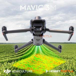 Drones agricultores - DJI P4 Multiespectral