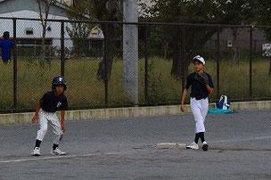 今日の走塁は良かったですよ、Aくん。