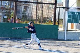 角度はホームラン。 SBの柳田選手みたいでかっこいいね。
