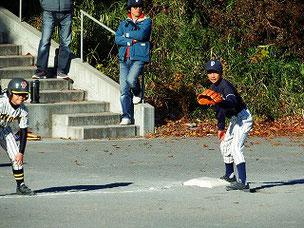 三塁手のASA君