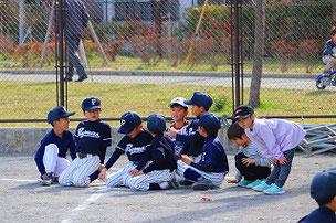 キッズたちと野球体験会
