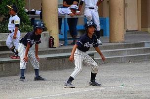 Aくん、ナイス走塁でした。
