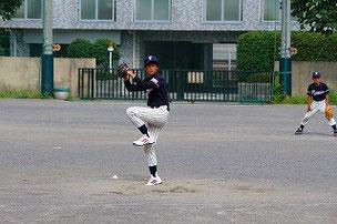 ストッパー晃、完璧投球。
