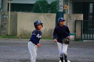 走塁を勉強中!