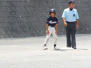 3塁打を打ちました。