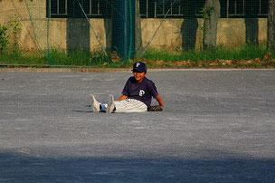 癒し系パンダ選手のTAI君。 君は何をしているの?? ちなみにこの選手が2試合目のキャプテンです。大丈夫かな??w