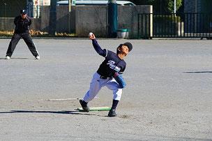 Pのローテーション、五人目? 荒れ球が魅力のASA君。  先発ローテーション入りを狙う選手はがんばってください。