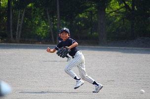 2塁手としてよくがんばりました