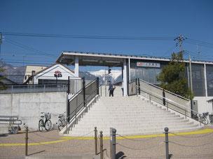 現在の小町屋駅