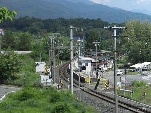 現在の大田切駅