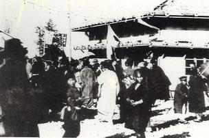 大正3年 開業時の赤穂駅(北村四郎さん提供)