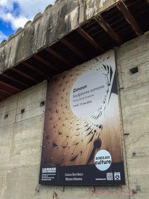 Zimoun, Sculptures sonores, Base sous-marine de Bordeaux